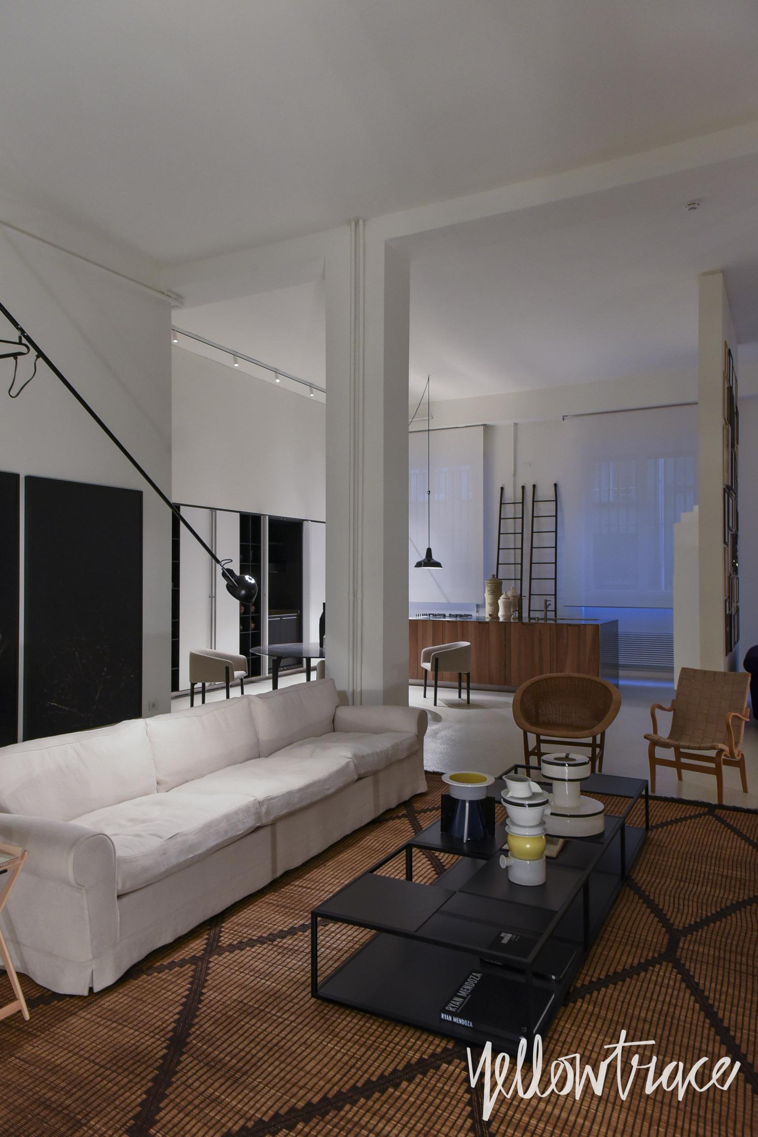 De Padova Showroom Milan by Piero Lissoni  Yellowtrace