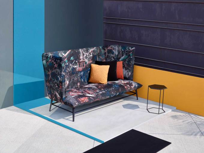 Diesel Living with Moroso Gimme Shelter, Salone Del Mobile 2016 | #Milantrace2016