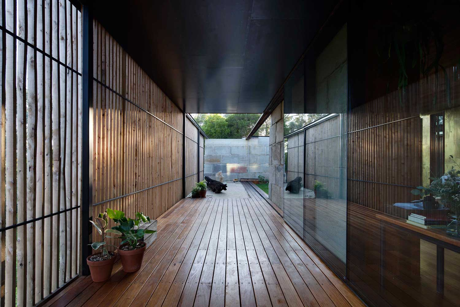 Sawmill House In Victoria By Archier