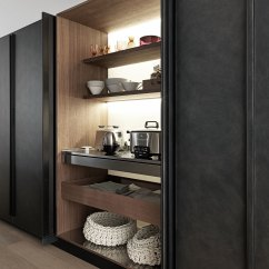 Kitchen Cupboard Doors Wall Mount Sink Genius Loci By Valcucine, Eurocucina 2016 | Yellowtrace ...
