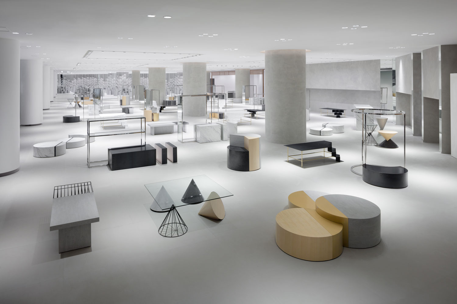 chair design bangkok coke table and chairs nendo designs 39siam discovery 39 a retail complex in