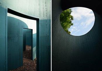 Vara Labyrinth Pavilion by Pezo von Ellrichshausen   Yellowtrace
