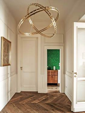 1930s Warsaw Apartment Renovation by Marta Chrapka of Colombe Design | Yellowtrace