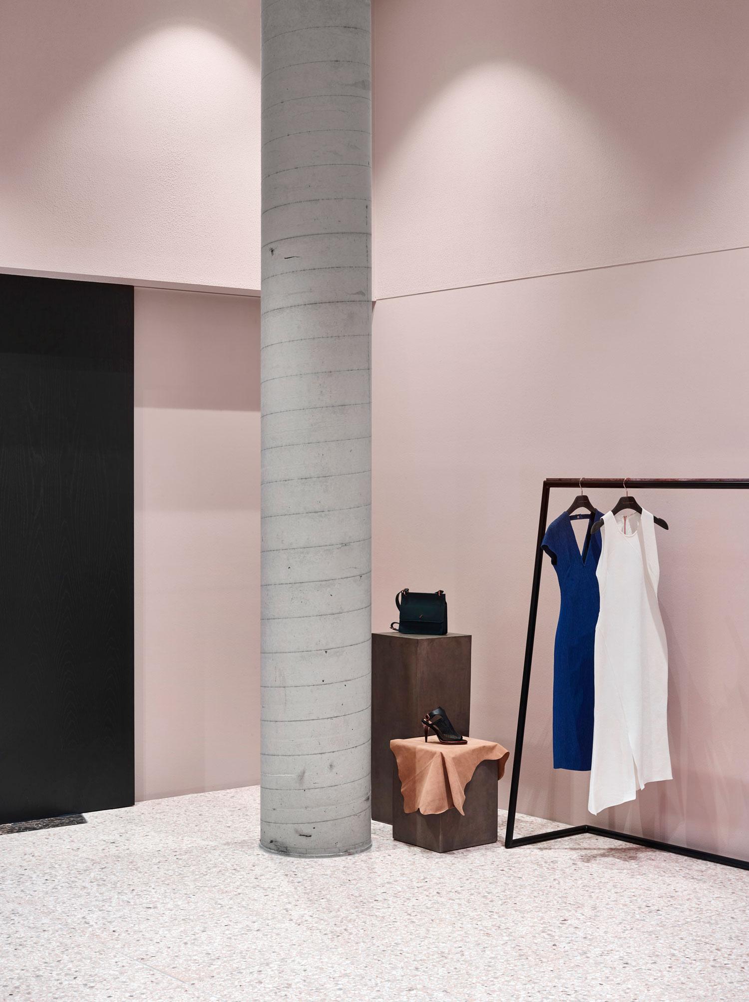Flack Studios New Retail Concept for Ginger  Smart