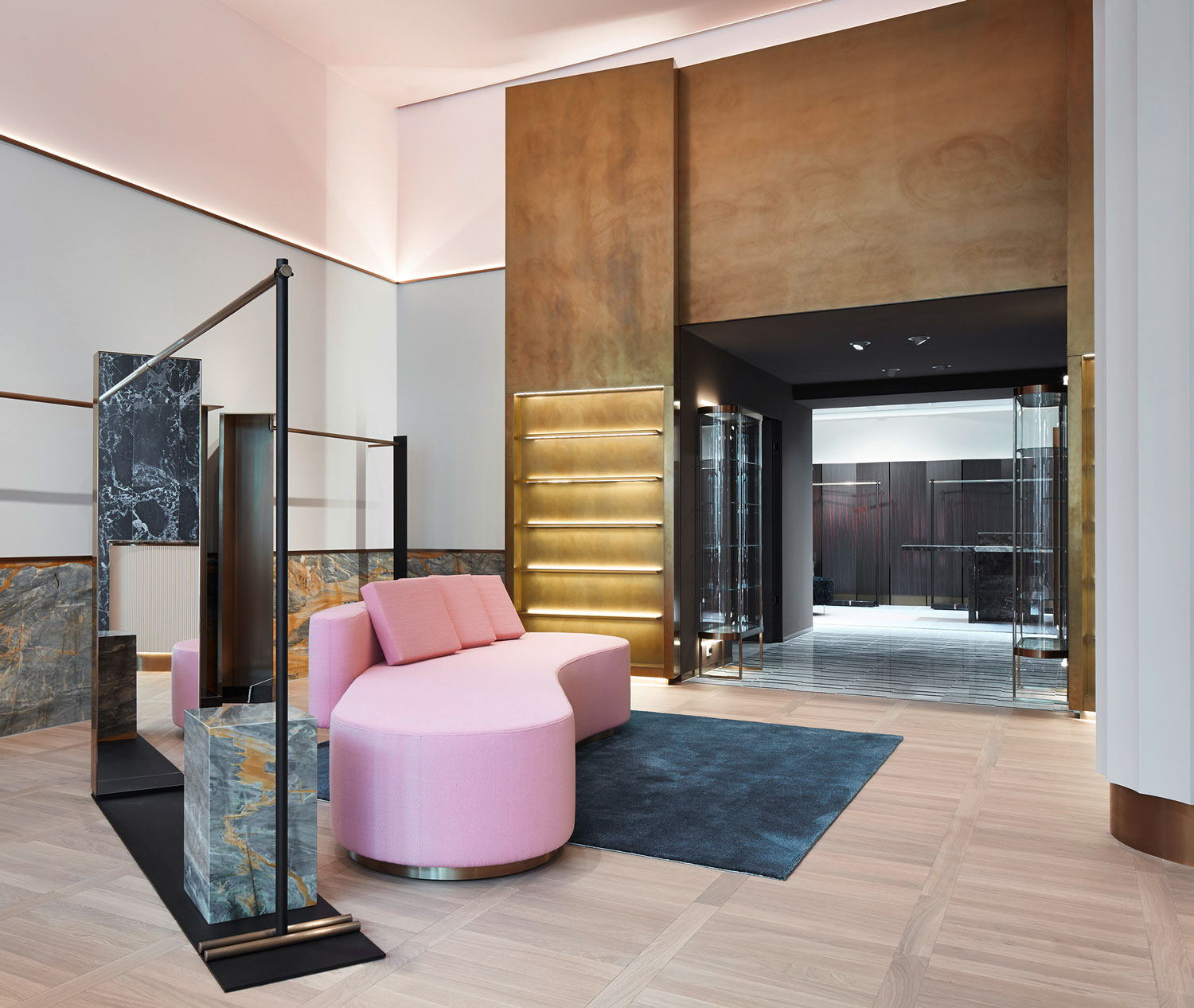 51 Modern Living Room Design From Talented Architects: Apropos Concept Store In Hamburg By Rodolphe Parente