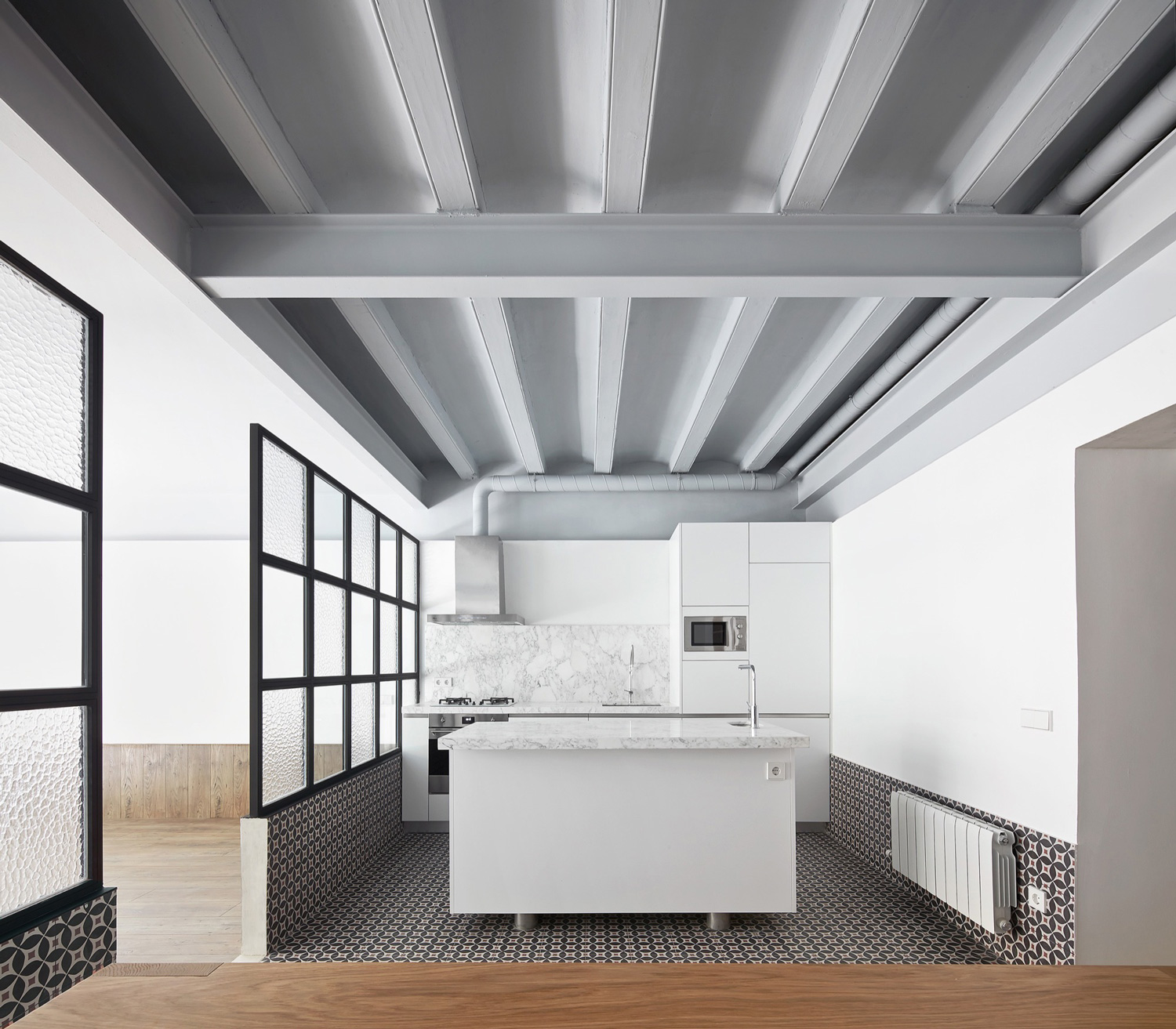 Tamarit apartment in barcelona by ras arquitectura - Arquitectura barcelona ...