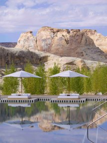Amangiri Resort & Spa In High Desert Of Utah