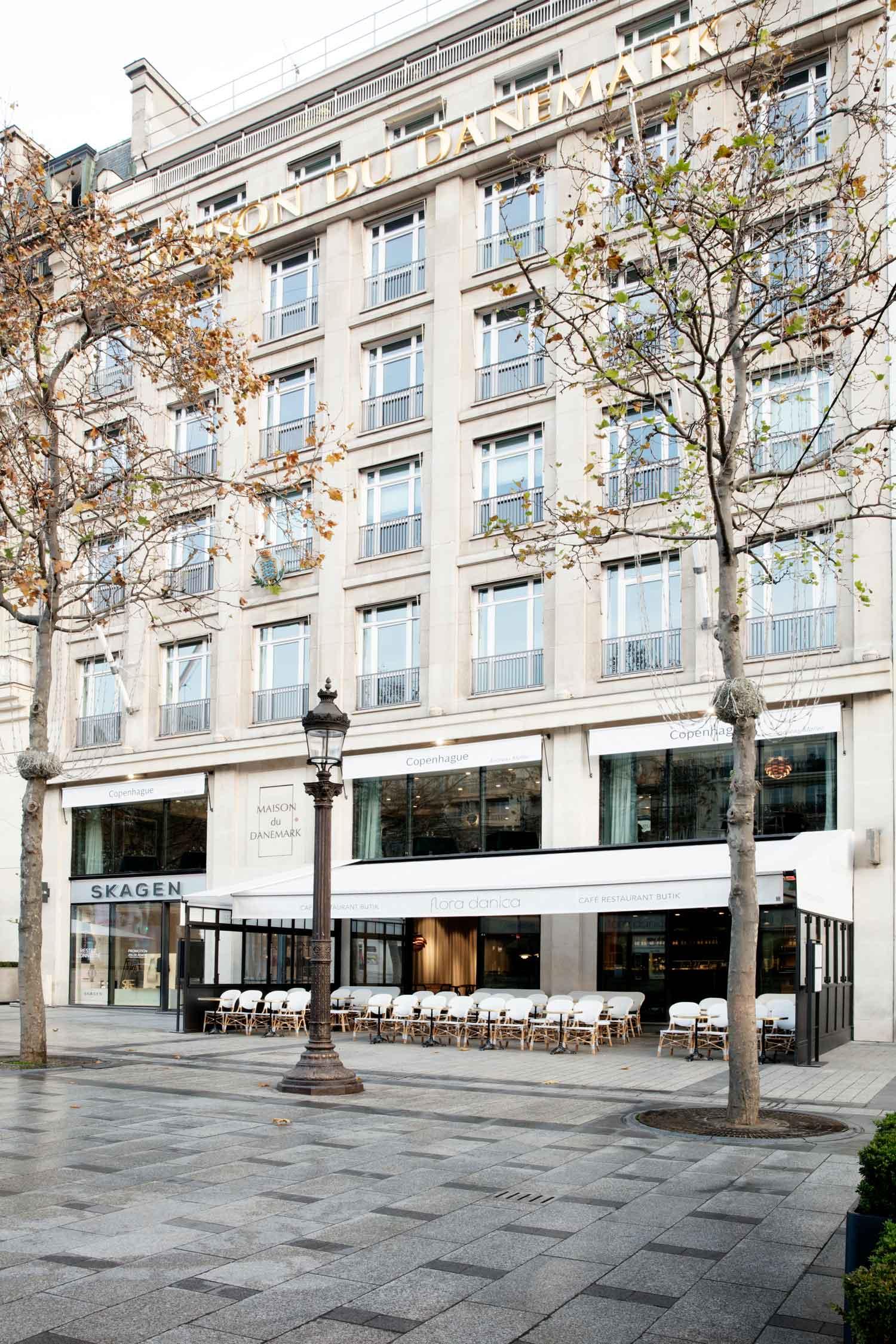 Maison Du Danemark House Of Denmark In Paris By Gamfratesi