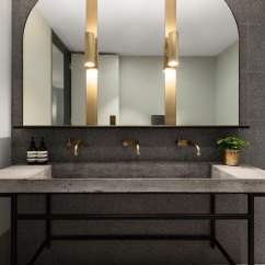 Leather Dining Chairs Australia Tall Bar Table And Buena Vista Hotel In Mosman By Sjb Interiros & Tess Regan Design.