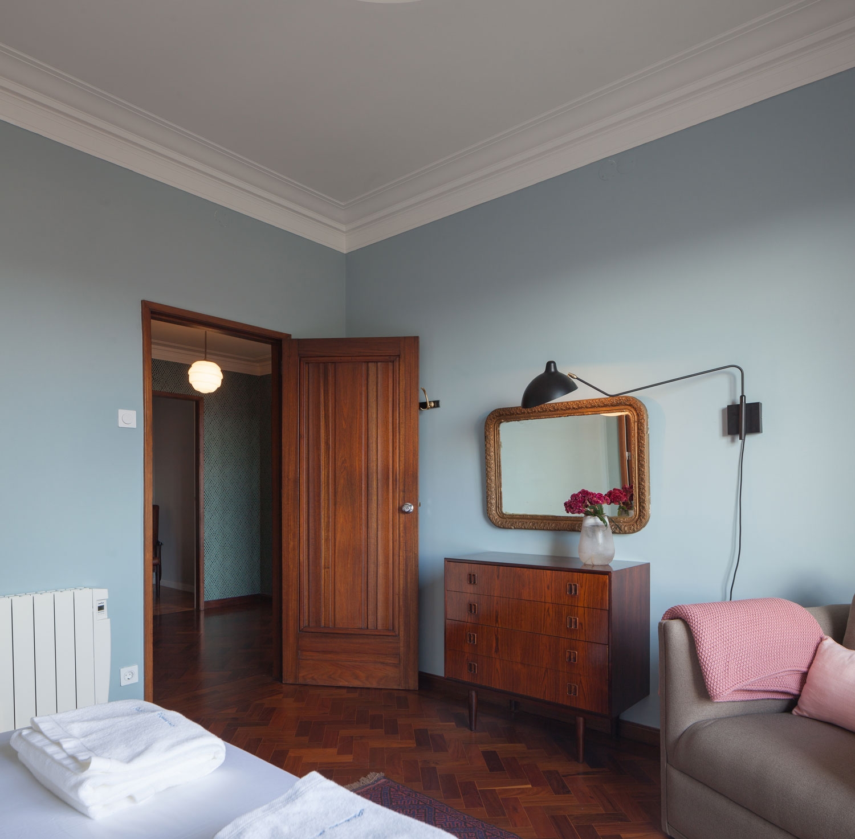 6 Top Interior Design Projects From Porto Portugal: 1940s Retro Apartment Renovations In Porto By Atelier In