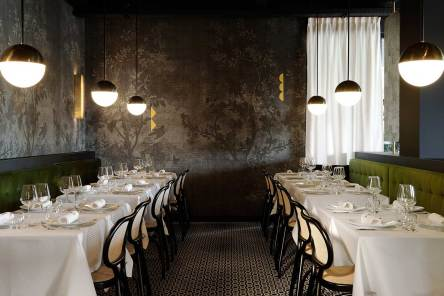 La Foret Noire Restaurant in Chaponost, France by Claude Cartier Studio | Yellowtrace
