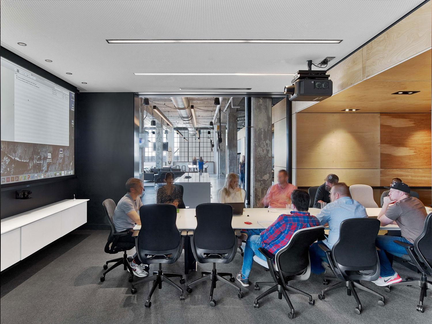 ad agency office design. MullenLowe Ad Agency Office In Winston-Salem, US By TPG Architecture | Yellowtrace Design H