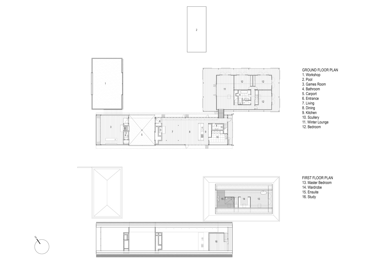 100+ [ New Zealand Floor Plans ] | Coastal Craftsman House ...
