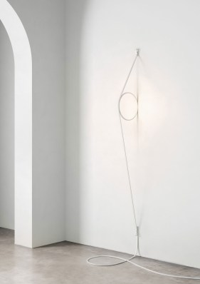 Wire Ring by Formafantasma for FLOS at Euroluce 2017 | Yellowtrace