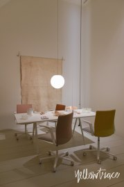 Arper Stand at Salone del Mobile. Photo by Nick Hughes   Yellowtrace