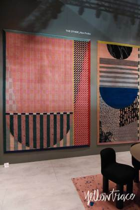 CC Tapis Stand at Salone del Mobile. Photo by Nick Hughes   Yellowtrace