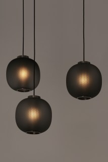 Bloom Pendent Black by Tim Rundle for Resident at Euroluce 2017 | Yellowtrace