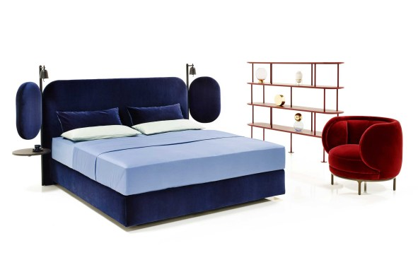 Wings Bed by Wittmann at Salone del Mobile 2017   Yellowtrace