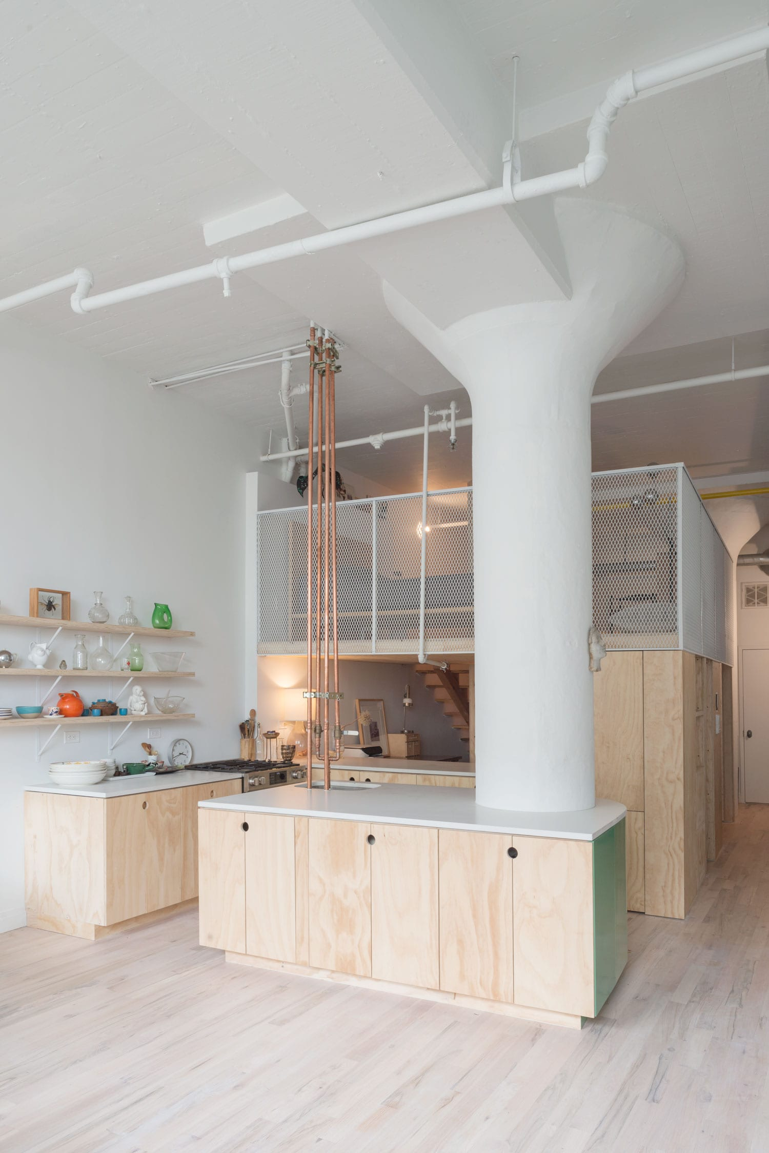 Bed Stuy Loft In Brooklyn New York By New Affiliates
