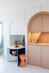 11m Micro Apartment in Paris by Batiik Studio | Yellowtrace