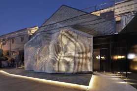The MaoHaus in Beijing, China by AntiStatics Architecture   Yellowtrace