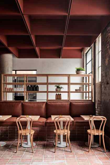 Bentwood Cafe in Fitzroy, Melbourne by RITZ&GHOUGASSIAN | Yellowtrace