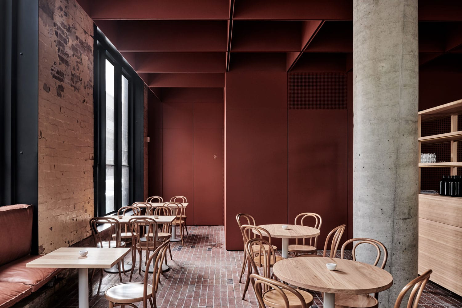 bentwood cafe in fitzroy melbourne by ritzghougassian yellowtrace