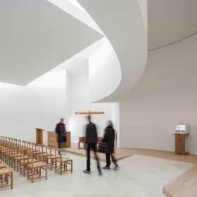 Alvaro Siza Vieira's New Church of Saint-Jacques de la Lande in Rennes, France | Yellowtrace