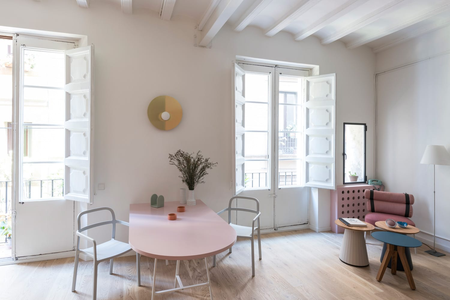 Playful apartment in born barcelona by casa yellowtrace