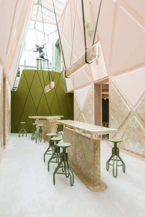 XYZ Lounge & Bar in Ghent, Belgium by Didier Fiúza Faustino | Yellowtrace