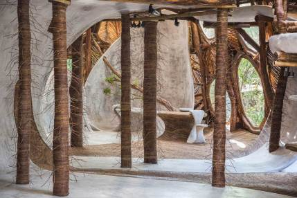 IK LAB Fine Art Gallery in Tulum, Mexico by Jorge Eduardo Neira Sterkel   Yellowtrace