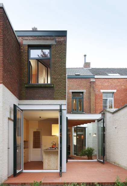Vos House in Ekeren, Belgium by Architecten de Vylder Vinck Taillieu   Yellowtrace