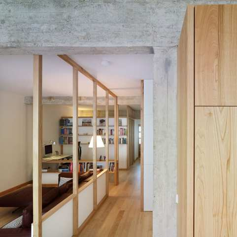 1960s Apartment Renovation in Vigo, Spain by Ansede Quintáns | Yellowtrace