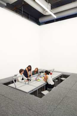 3-8 Installation by Leopold Banchini & Laure Jaffuel at Centre Pompidou in Paris   Yellowtrace