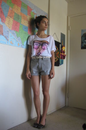 Gray Diesel Shorts White Forever21 Danny Roberts Ts