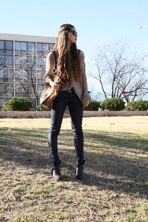 Harness Dolce Vita Boots Wax Zara Jeans Cowhide Indian