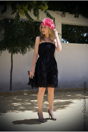 Beige Zara Shoes Black Zara Dresses Hot Pink Moa Hats Black Tosca Blu Bags  AFFORDABLE