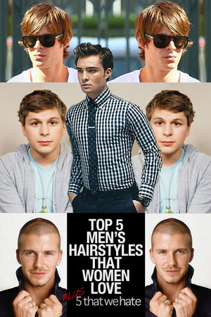 5 Hairstyles That Girls Love On Men! Chictopia