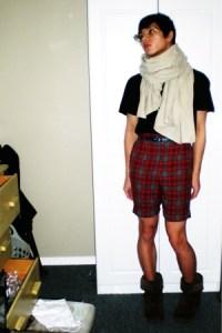 Men's Scarves, Gap Shirts, H&M Belts, Vintage Shorts ...
