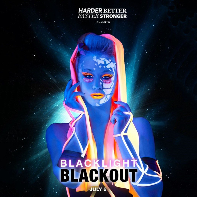 blacklight blackout indie electronic