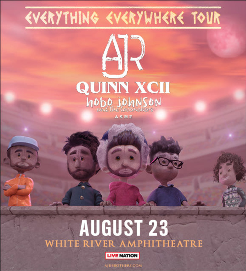 ajr with quinn xcii in auburn at white