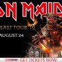 Iron Maiden With The Raven Age Legacy Of The Beast Tour In
