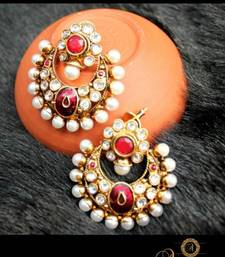 Buy PEARL EARRINGS danglers-drop online
