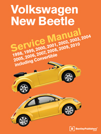 2000 vw beetle engine diagram dual wiring car stereo - volkswagen new service manual: 1998-2010 bentley publishers repair manuals and ...