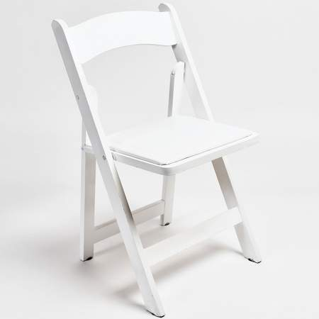 White Folding Chair Rental  Chair Rentals