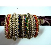 metallic-thread-bridal-wear-bangles