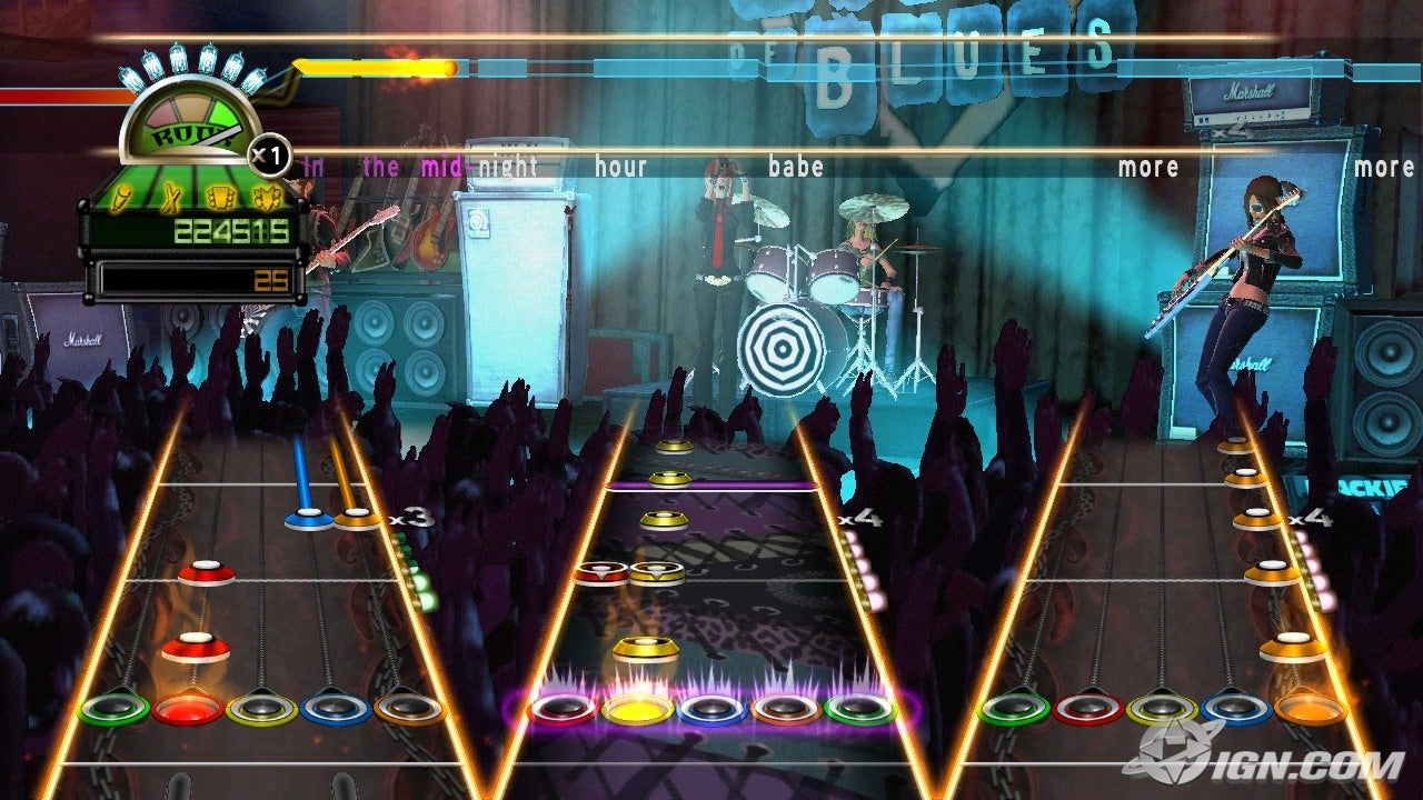 Live Pc Girl Wallpapers Guitar Hero World Tour Screenshots Pictures Wallpapers