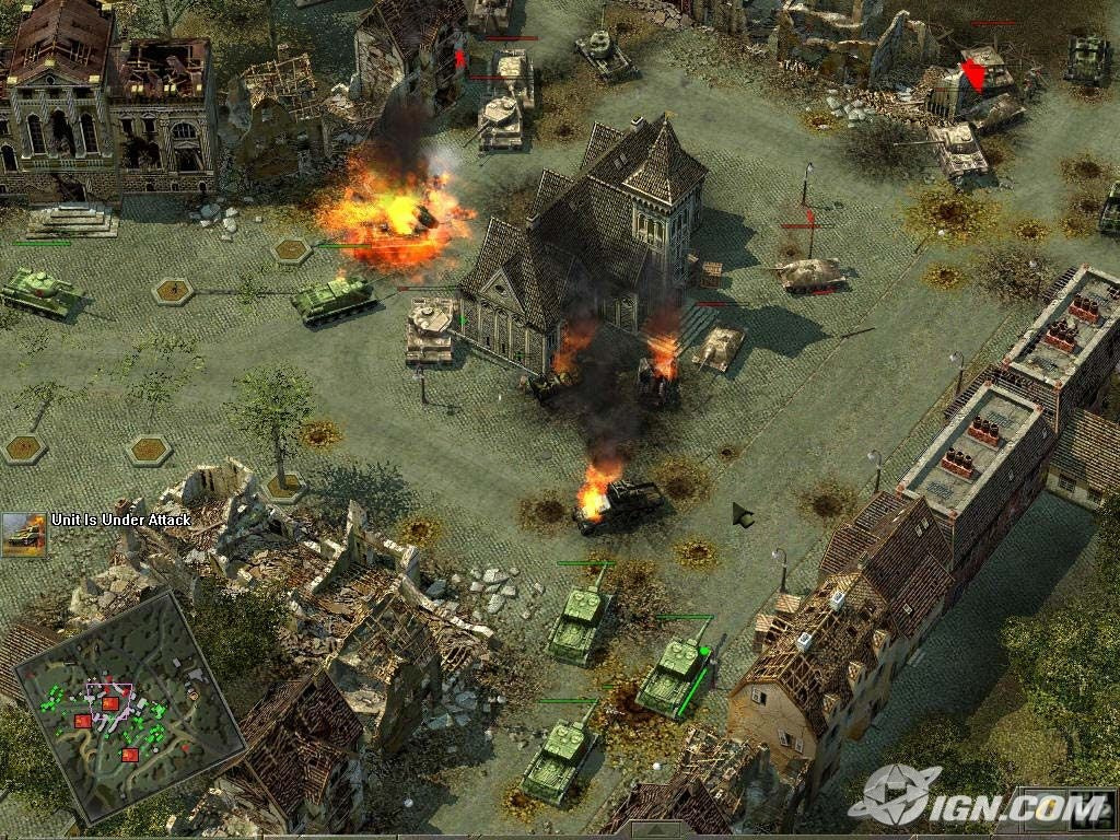 Nintnedo Fall Wallpapers Blitzkrieg 2 Liberation Screenshots Pictures Wallpapers
