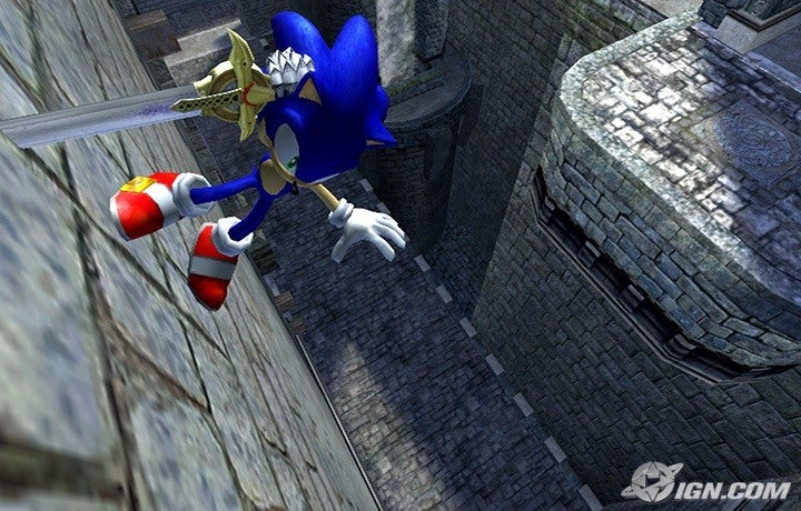 Sonic Unleashed Sonic Monster