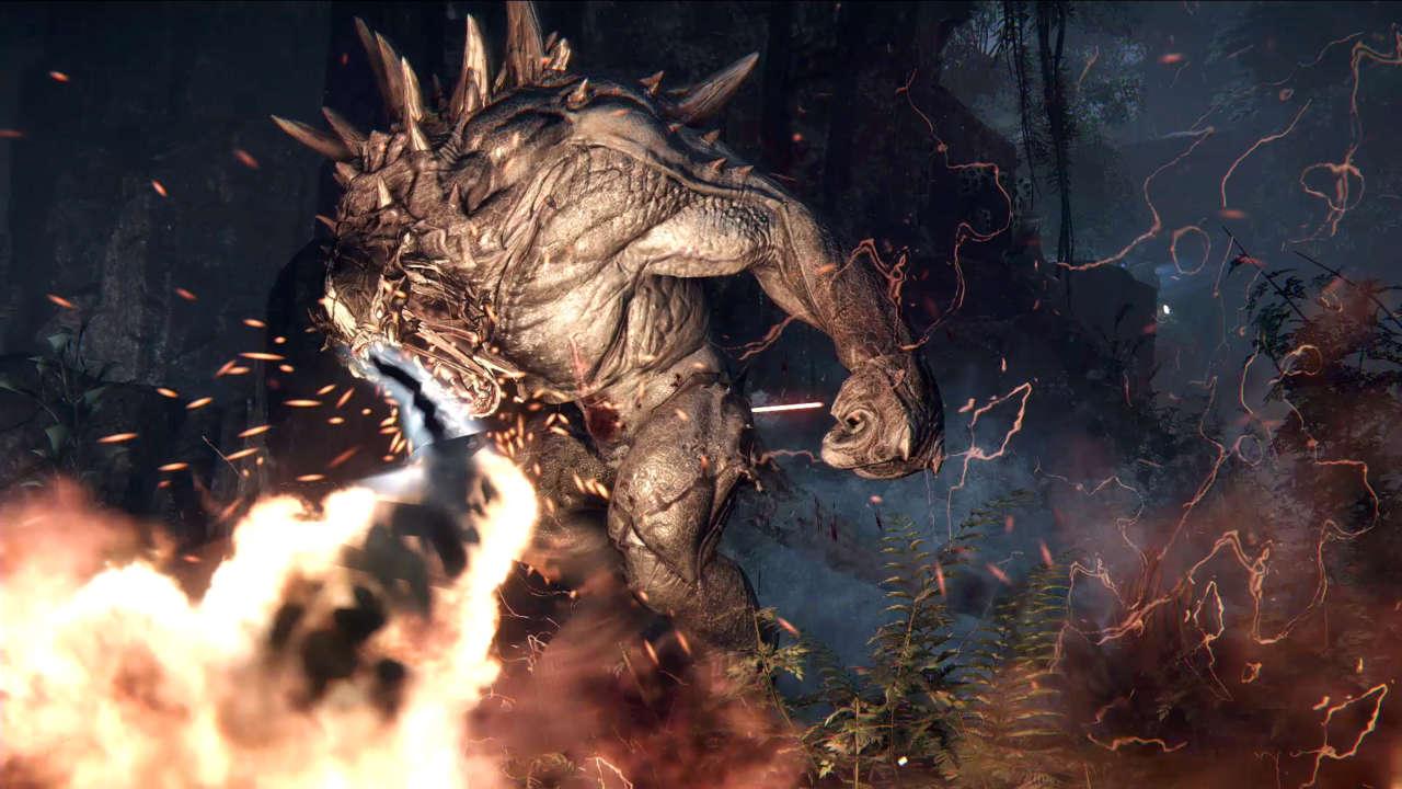 The Evolution Of Evolves Goliath Monster IGN